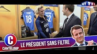 """Imitation d'Emmanuel Macron - """"Qu'est-ce que c'est que cette coupe de gitan ?"""" - C'est Canteloup"""