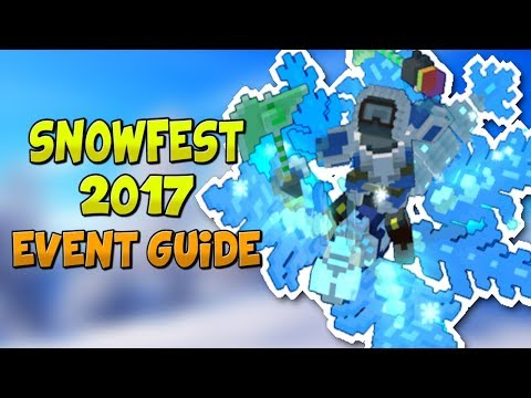HOW TO COMPLETE THE SNOWFEST 2017 EVENT! ✪ Trove Event Guide & Tutorial