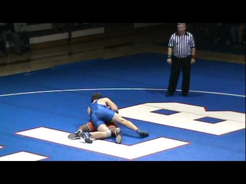 SQ - Evan Daley (Fort LeBoeuf) pins Parris Warner (Harbor Creek) 220