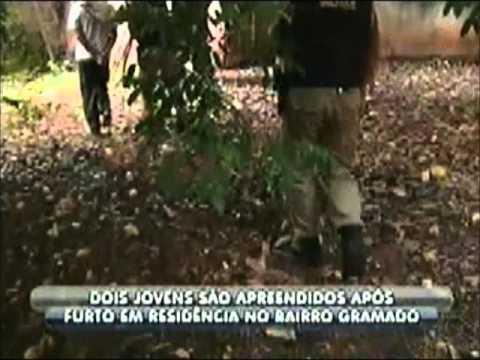 Dois adolescentes são apreendidos após furto a residência no Gramado