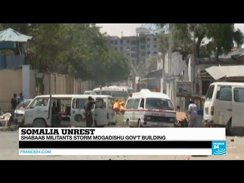 SOMALIA - Al-Shabaab islamists storm Mogadishu government complex