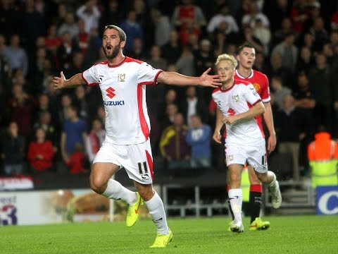 HIGHLIGHTS: MK Dons 4-0 Manchester United