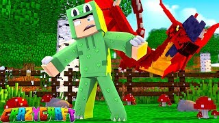 CRAZY CRAFT - WE TAMED THE BEAST!! *NEW PETS*