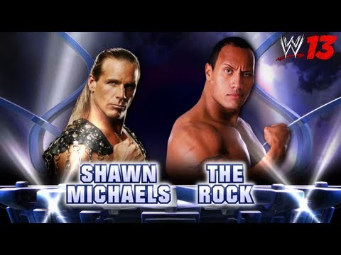 WWE Top 10 Fantasy Matches: 2. Shawn Michaels vs. The Rock