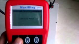 Test of Autel JP701 code reader