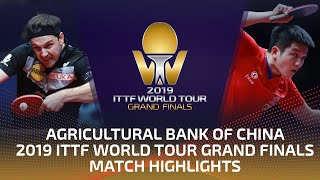 Timo Boll vs Fan Zhendong | 2019 ITTF World Tour Grand Finals Highlights (R16)