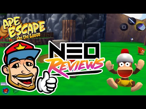 Ape Escape: On the Loose - Neo Reviews