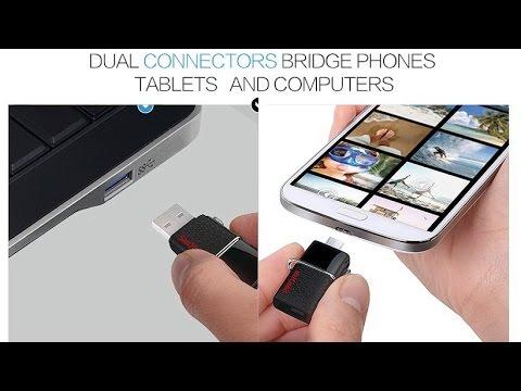 SanDisk Ultra Dual 64Гб Быстрая флешка из Китая. верить ли продавцу? Распаковка и тест.