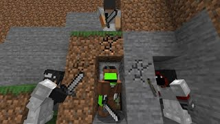 Minecraft Speedrunner VS 3 Hunters REMATCH