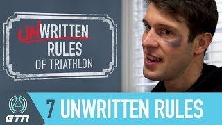 The 7 Unwritten Rules Of Triathlon