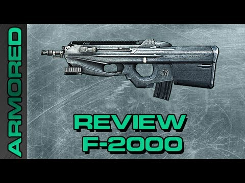 Battlefield 3: Review F2000 A Maquina de HIP FIRE