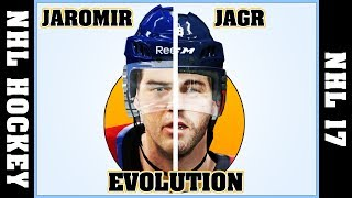 JAROMIR JAGR evolution [NHL HOCKEY - NHL 17] 🏒