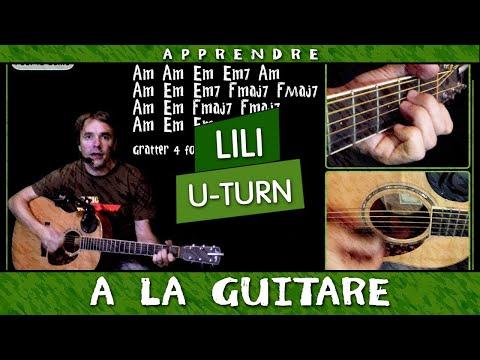 Apprendre AaRON - U-turn (Lili) - à la guitare