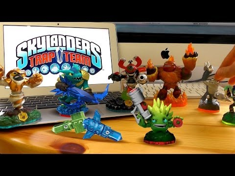 Skylanders Trap Team Starter Pack Review & New Light  / Dark Elements