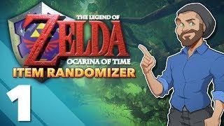 Ocarina of Time CHALLENGE RUN - #1 - Item Randomizer! - PlayFrame