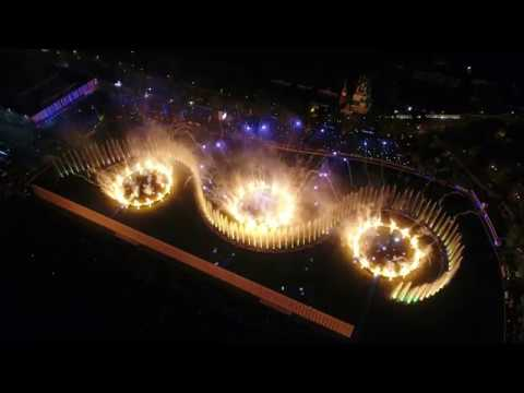 4К - Открытие фестиваля Круг Света 2017 с квадрокоптера!