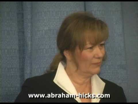 Abraham: THE LAW OF ATTRACTION - Part 1 of 5 - Esther & Jerry Hicks
