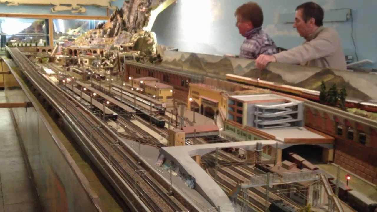 Plastico ferroviario di ezio c youtube for Tornio modellismo