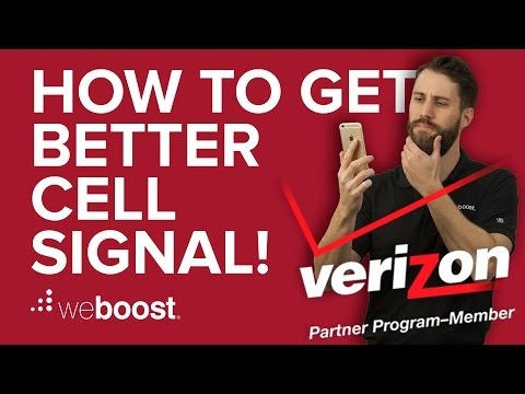 How to Improve & Boost Cell Phone Signal for Verizon   weBoost