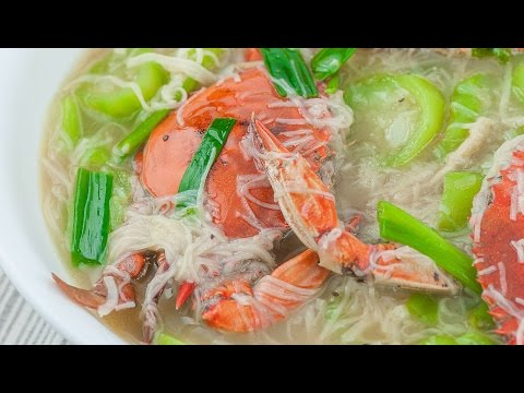 Crabs with Misua and Patola