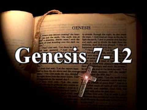King James Audio Bible - Genesis Chapters 7-12