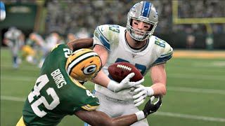 NFL Monday Night Football - Green Bay Packers vs Detroit Lions Week 6 (NFL 10/14/2019) Madden 20