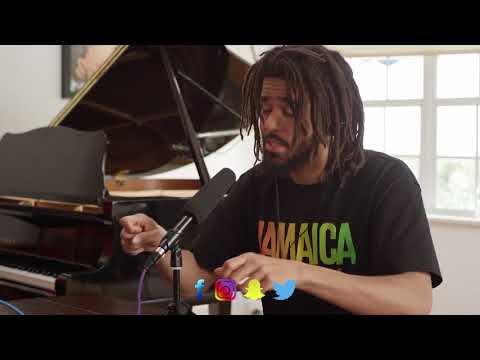 J Cole Speaks on Kanye West's Mental Health And Donald Trumps Strategies