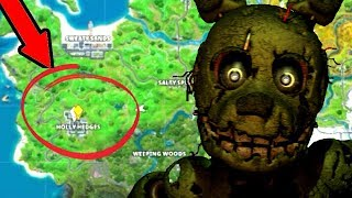 Springtrap FOUND In Fortnite Battle Royale! (Chapter 2)