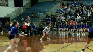 Incredible superhuman volleyball play - Decatur High School in Texas