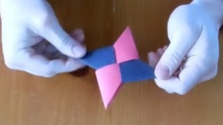 Zombie Makes An Origami Ninja Star