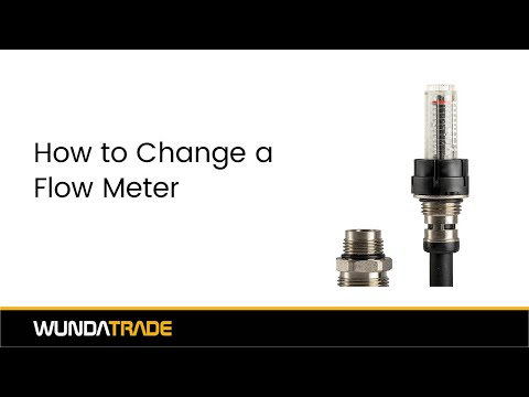 How to change a flow meter