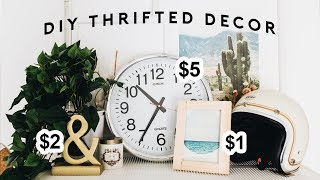 DIY Room Decor from the THRIFT STORE (Tumblr Inspired for 2018) // Lone Fox