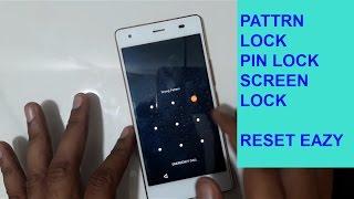 Intex Aqua Ace Pattern lock And Hard Reset Pin Lock Reset EAZY