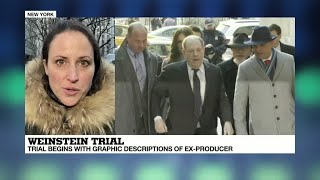 Weinstein rape trial: First day in court for the ex-producer, accused of five sex crimes