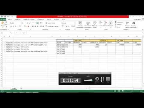 Tutorial // Costo Promedio- Tarjeta de Almacén 5D