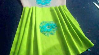 How to make FROCK for Girls, stylish baby frock dresses for girls tutorial at home