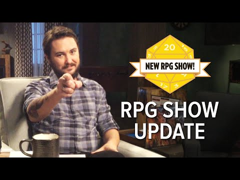 Wil Wheaton has Big News About the RPG Show