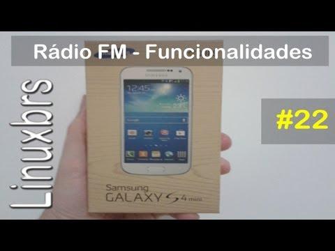 Samsung Galaxy S4 Mini Duos i9192 - Rádio FM (bem melhor) - PT-BR - Brasil