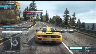 Need For Speed Most Wanted (2012) [Xbox 360]: McLaren F1 LM Gameplay