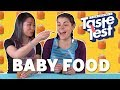 Adults Trying Baby Food 👶TASTE TEST!