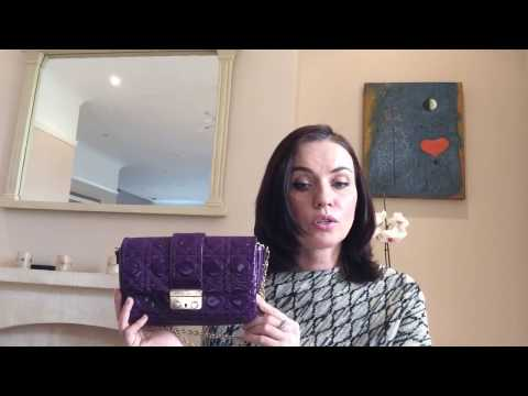 ОБЗОР СУМКИ CHRISTIAN DIOR | DIOR HANDBAG REVIEW | MARINA WANG