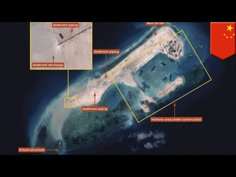 South China Seas territorial disputes: China building massive island at Fiery Cross Reef