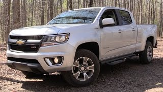 2016 Chevrolet Colorado Z71 Diesel - Off Road Test & In Depth Review (w/ Front Air Dam Removal Demo)