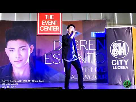 Despacito - Darren Espanto Be With Me Album Tour at SM City Lucena 07/15/2017