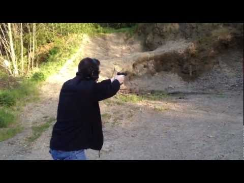 David Crane Fires Full-Auto Glock 22 (G22) .40 S&W Pistol with STS Arms Select-Fire Backplate 1