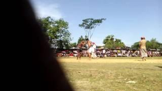 ঐতিহ্যবাহী কুস্তি খেলায় শেরমস্তপুর