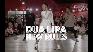 Download Lagu Dua Lipa - New Rules | Hamilton Evans Choreography Gratis STAFABAND