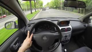 Opel Corsa 1.2 - POV City Drive