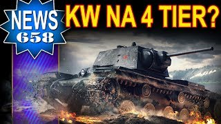 Czołg KW na 4 Tier? Czy to możliwe? NEWS - World of Tanks