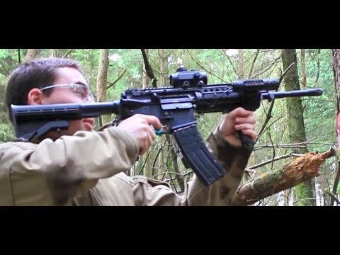 Airsoft War Tokyo Marui M4 S-System Daedalus in Action Scotland HD
